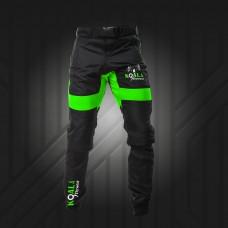 Skydiving swoop pants neon green